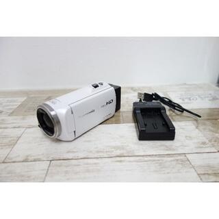 Panasonic - ☆17年製 Panasonic ビデオカメラ HC-V360MS ホワイト