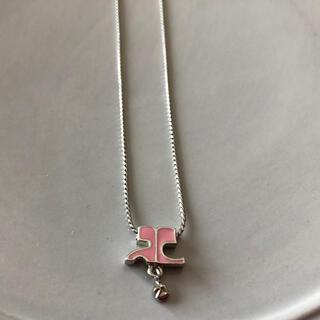 クレージュ(Courreges)のクレージュ21  ネックレス ピンク(ネックレス)