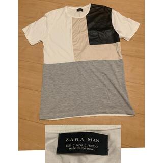 ザラ(ZARA)のZARA メンズTシャツ(Tシャツ/カットソー(半袖/袖なし))