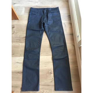 ザラ(ZARA)のZARA メンズ パンツ 29サイズ ブラック デニム 艶有り(デニム/ジーンズ)