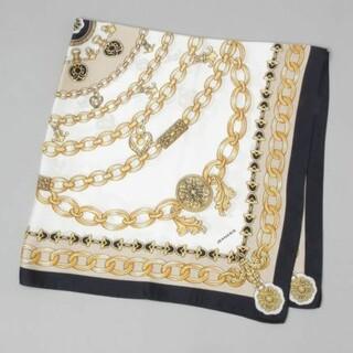 ジーナシス(JEANASIS)のジーナシス BIGチェーン柄スカーフ ①used(バンダナ/スカーフ)
