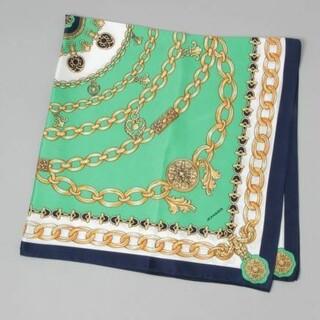 ジーナシス(JEANASIS)のジーナシスの BIGチェーン柄スカーフ ②used(バンダナ/スカーフ)