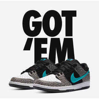 ナイキ(NIKE)のNIKE SB DUNK low Elephant 26cm(スニーカー)
