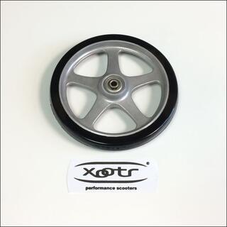 ■米国製:XOOTRキックスクー用:アルミタイヤウィール(1本/新品)(スケートボード)