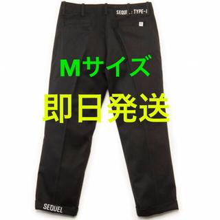 フラグメント(FRAGMENT)の✨SEQUEL CHINO PANTS シークエル チノ 黒 M フラグメント✨(チノパン)