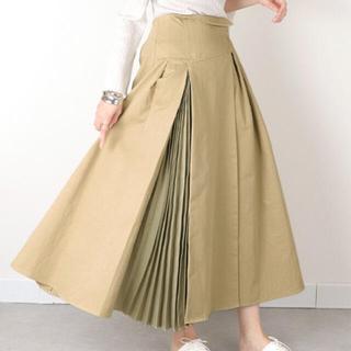ランダ(RANDA)のプリーツデザインコットンスカート(ロングスカート)