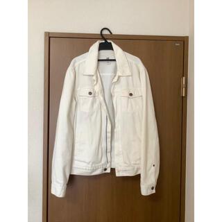 エイチアンドエム(H&M)のデニムジャケット白 Gジャン(Gジャン/デニムジャケット)