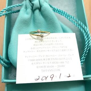 Tiffany & Co. - ティファニー  ダイアモンド  フープリング