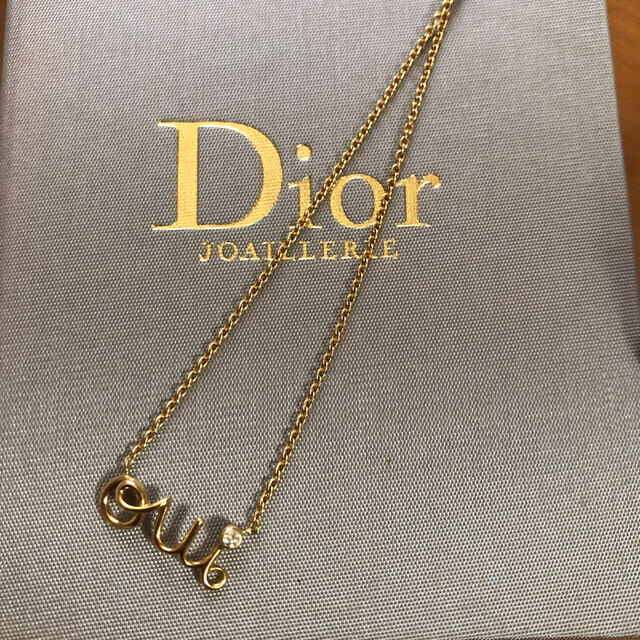 Christian Dior(クリスチャンディオール)のdior oui ディオール ウィ ネックレス レディースのアクセサリー(ネックレス)の商品写真