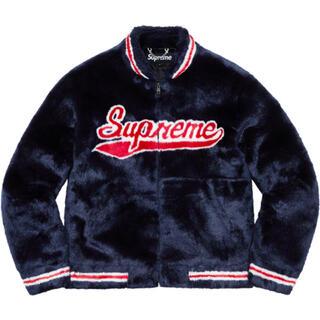 シュプリーム(Supreme)の未開封 Supreme Faux Fur Varsity Jacket ファー(毛皮/ファーコート)