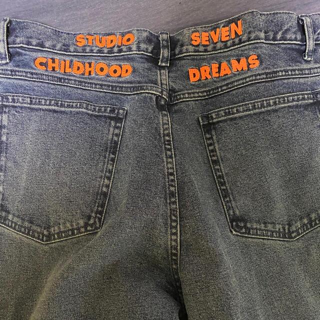 三代目 J Soul Brothers(サンダイメジェイソウルブラザーズ)のスタジオセブン デニム 青 メンズのパンツ(デニム/ジーンズ)の商品写真