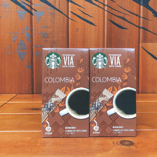 Starbucks Coffee - スターバックス ヴィア VIA 2箱 コロンビア インスタントコーヒー
