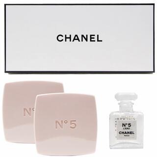 CHANEL - シャネル N°5 ロー オードゥ トワレット サヴォン 石鹸 & 香水 セット