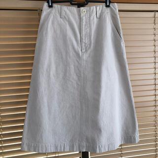 マーガレットハウエル(MARGARET HOWELL)のMHL/スカート/2/コットン/595-7132551(ひざ丈スカート)