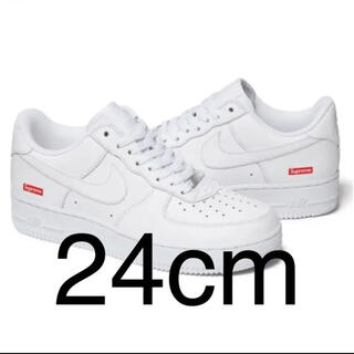 Supreme - 24cm Supreme Nike Air Force 1 Low White
