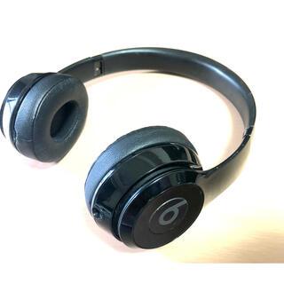 ビーツバイドクタードレ(Beats by Dr Dre)のBeats SOLO2 WIRELESS BLACK ビーツ ヘッドホン(ヘッドフォン/イヤフォン)