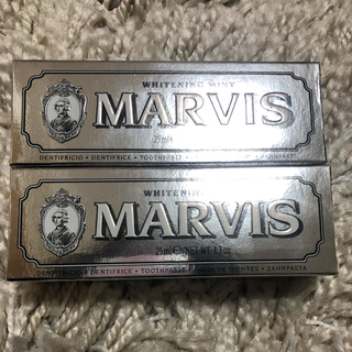 マービス(MARVIS)のMARVIS Whitening Mint 25ml(歯磨き粉)