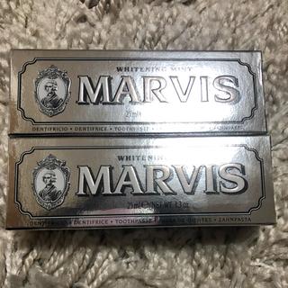 マービス(MARVIS)のMARVIS Whitening Mint 25ml(歯磨き粉)