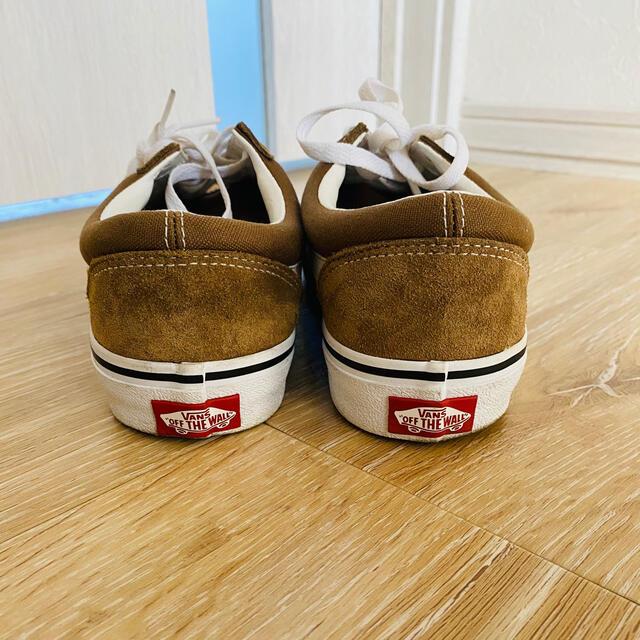 VANS(ヴァンズ)のVANS オールドスクール 27 OLD SKOOL ブラウン ベージュ メンズの靴/シューズ(スニーカー)の商品写真