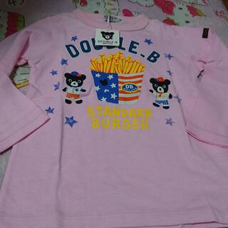 ダブルビー(DOUBLE.B)の新品未使用 ミキハウスDB 女の子♪長袖Tシャツ100・(Tシャツ/カットソー)