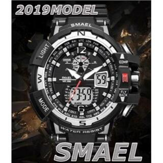 2020新入荷!■新品■ ビッグフェイス ダイバーズウォッチ銀(腕時計(デジタル))