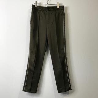ダブルスタンダードクロージング(DOUBLE STANDARD CLOTHING)のダブルスタンダードクロッシング ジャージ パンツ サイズ38 カーキ レディース(カジュアルパンツ)