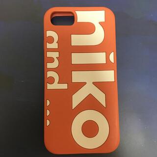 ニコアンド(niko and...)のNiko and… iPhoneケース スマホケース サーモンピンク 韓国(iPhoneケース)
