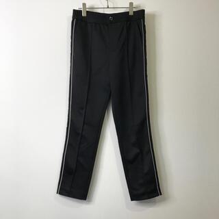 ダブルスタンダードクロージング(DOUBLE STANDARD CLOTHING)のダブルスタンダードクロッシング ジャージ パンツ サイズ38 ブラック(カジュアルパンツ)
