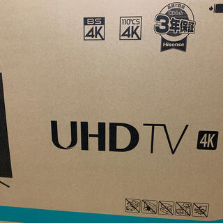 新品未開封 Hisense ハイセンス 55型4K液晶テレビ 55E6000