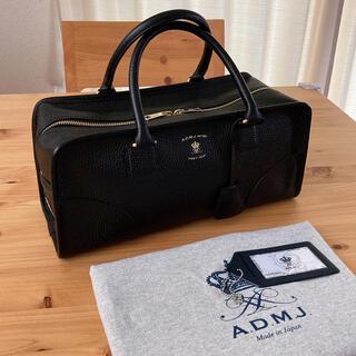 エーディーエムジェイ(A.D.M.J.)の極美品! 人気品! 正規品 ADMJ  スクエア ボストンバッグ ハンドバッグ(ボストンバッグ)