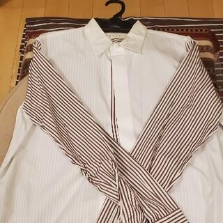 マルニ(Marni)の金額確定!マルニロンドンストライプドッキングシャツ(シャツ)