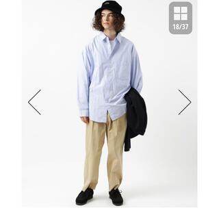 フリークスストア(FREAK'S STORE)のビッグシルエット レギュラーカラーシャツ(Tシャツ/カットソー(七分/長袖))