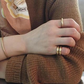 ロンハーマン(Ron Herman)のme and her 真鍮リング wide simple ring(リング(指輪))