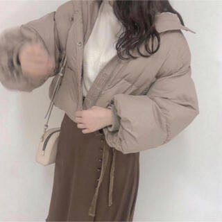 リエンダ(rienda)の💗専用💗 タグ付き VANNIE U ボリューム もちもち ダウン(ダウンジャケット)