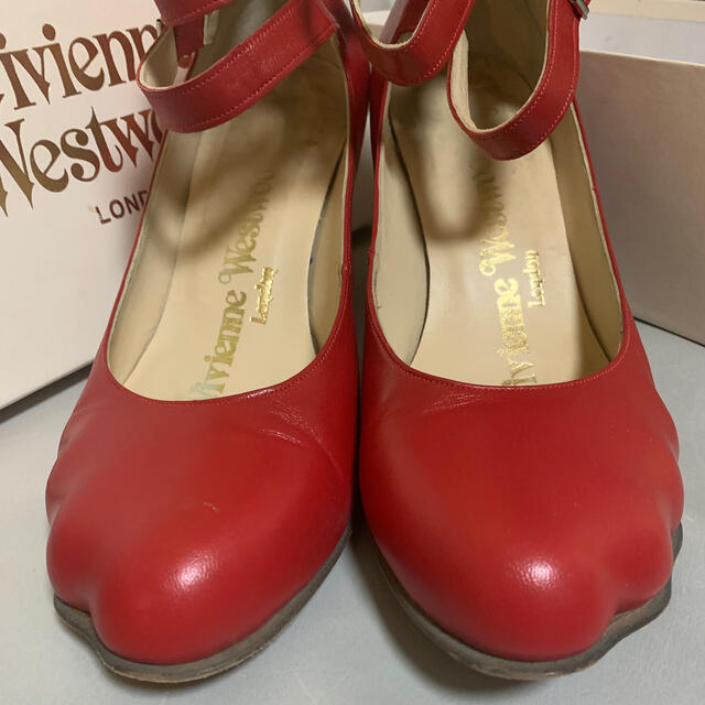 Vivienne Westwood(ヴィヴィアンウエストウッド)の本日まで アニマルトゥ  アンクルスリーストラップ UK5 レディースの靴/シューズ(ハイヒール/パンプス)の商品写真