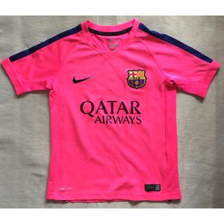 NIKE - NIKE DRI-FIT Tシャツ 蛍光ピンク サイズ S
