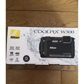 Nikon - COOLPIXW300[ブラック]