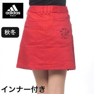 adidas -  M/新品 秋冬 アディダス レディース ゴルフ スカート インナー付き