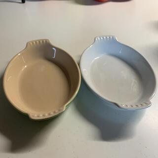 ルクルーゼ(LE CREUSET)のル・クルーゼ グラタン皿 2つセット(食器)