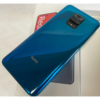 ANDROID - 国内版simフリー redmi note 9s 6GB 128GB ブルー