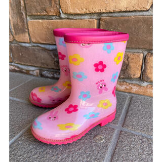 ミキハウス(mikihouse)のミキハウス レインブーツ キッズ 女の子 長靴 15cm(長靴/レインシューズ)