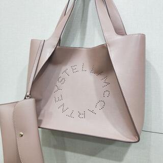 Stella McCartney - トートバッグ 美品 ステラマッカートニー ステラ ロゴ トートバッグ ピンクベー