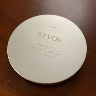 エトヴォス(ETVOS)のエトヴォス ミネラルハイライトクリーム 4g(フェイスカラー)