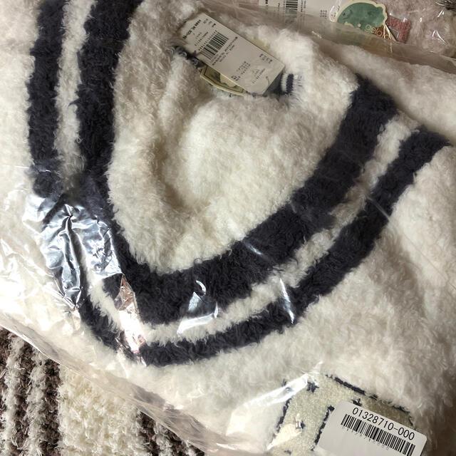 gelato pique(ジェラートピケ)のメロディ様 ジェラートサガラ刺繍ドレス OWHT レディースのルームウェア/パジャマ(ルームウェア)の商品写真