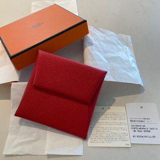 エルメス(Hermes)のエルメス コインケース バスティア ブーゲンビリア ヴォーエプソン Hermès(コインケース)
