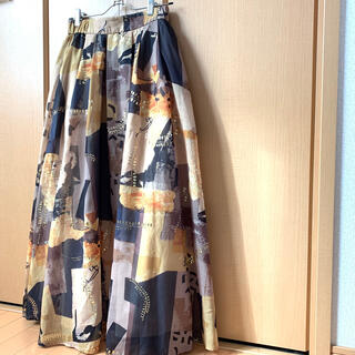 Ameri VINTAGE - 【Ameri VINTAGE】エミリータックフレアードスカート