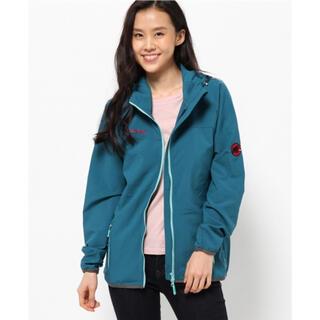 マムート(Mammut)のSOFtech Granite hooded jacket Women(ナイロンジャケット)