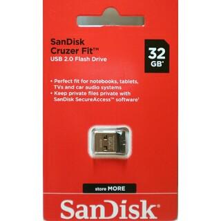 サンディスク(SanDisk)のサンディスク SanDisk USBメモリ ミニサイズ 極小サイズ 小さい(PC周辺機器)