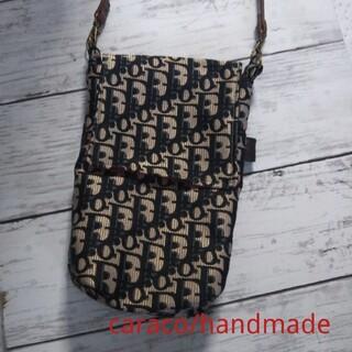 side bag  beige × black
