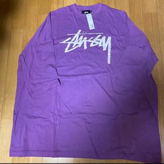 ステューシー(STUSSY)のstussy women ストックロゴ ビッグシルエットカットソー(Tシャツ(長袖/七分))